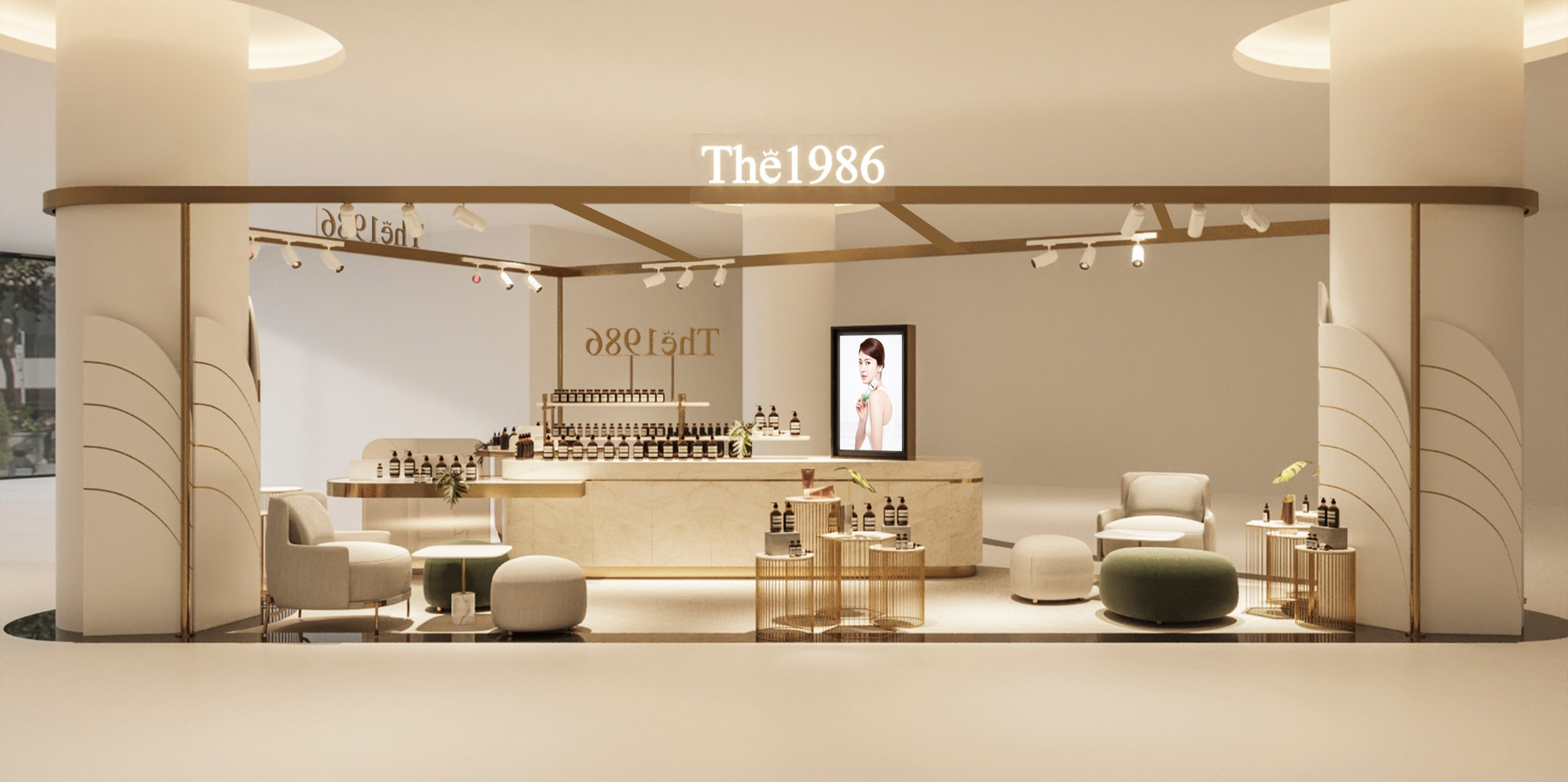 The1986 Pop-up store