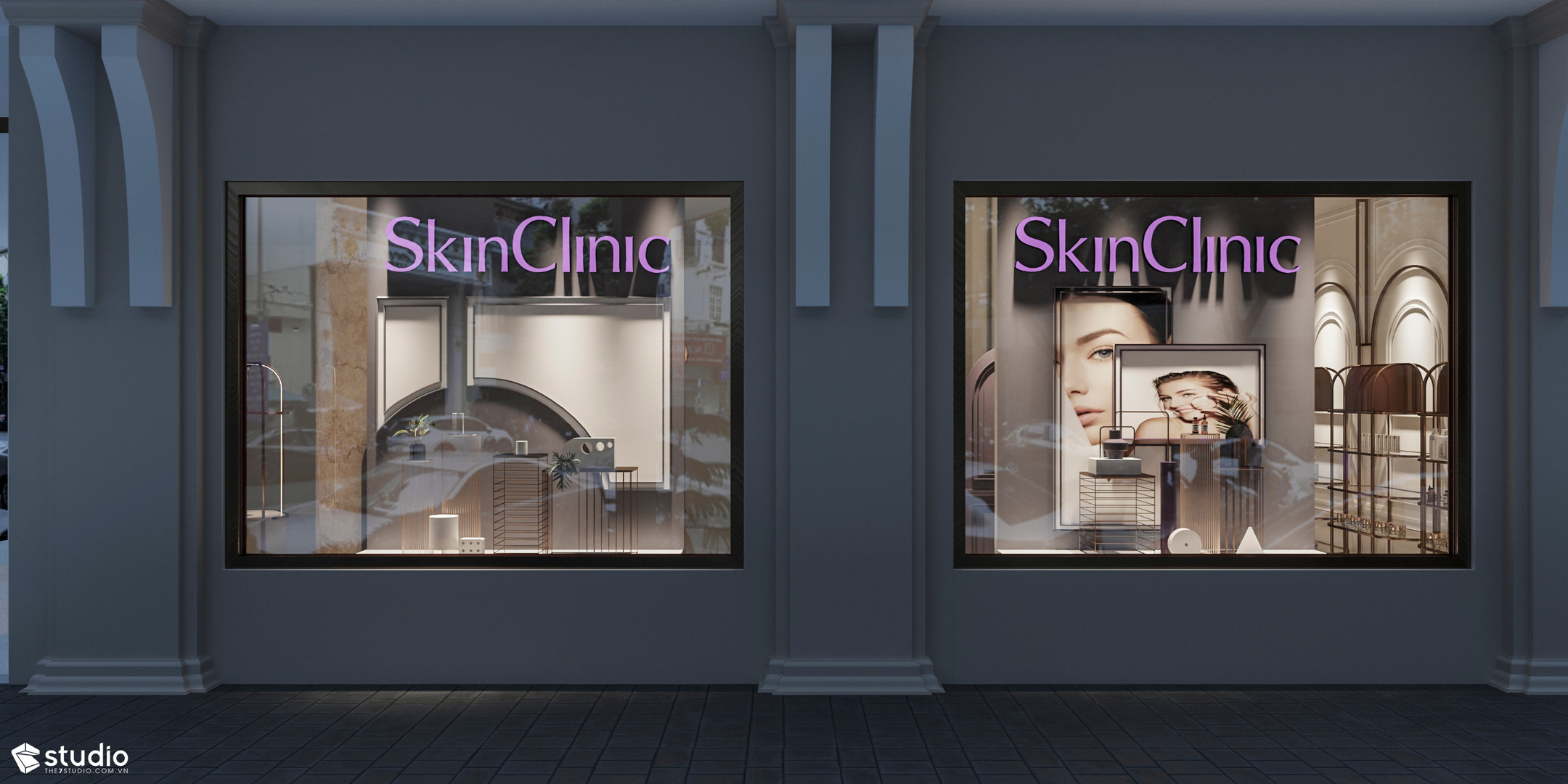 SKINCLINIC Pop-up store