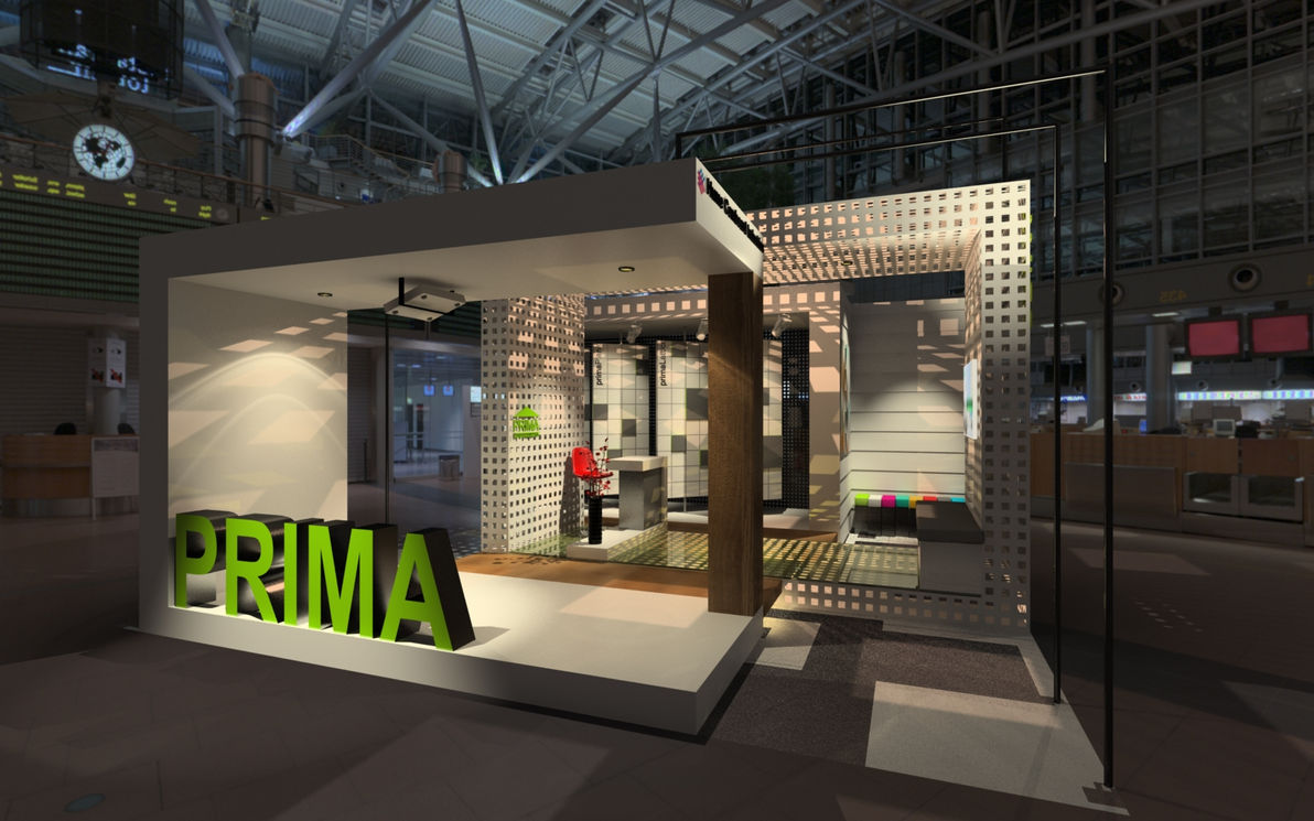 PRIMA booth