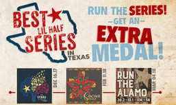 $AVE 18% off ANY of our Three Upcoming Half Marathons or $AVE 30% when you sign up for ALL 3!