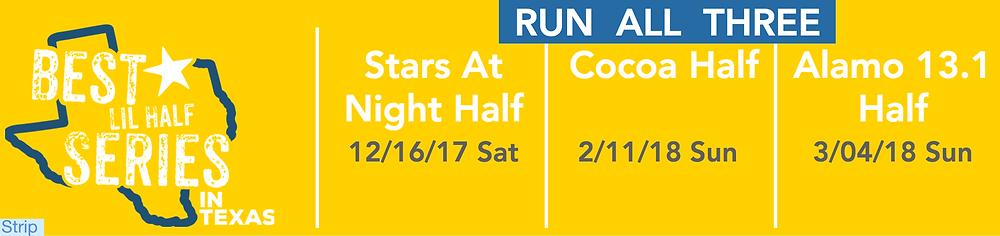 Best Lil Half Series, Alamo 13.1, Cocoa Half, Stars At Night Half
