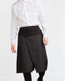 men skirt