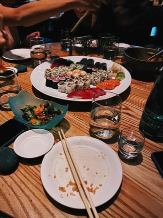 Sushi coma