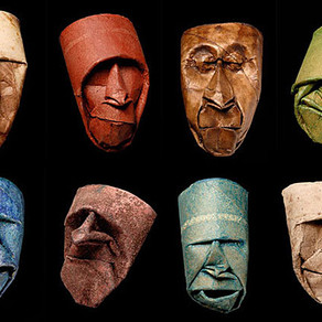 Art Illusion - Toilet paper roll Masks