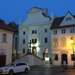 Hotel inside Church