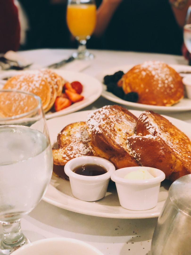 Breakfast coma