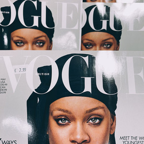 Queen RiRi back on the cover of Vogue