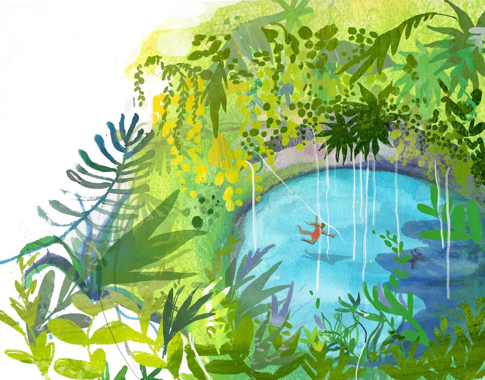 Cenote Spread