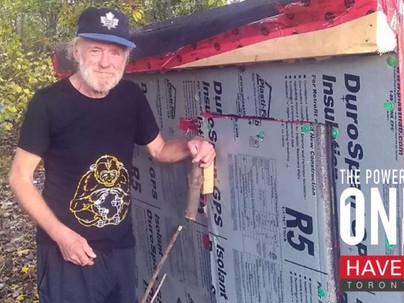 Toronto Carpenter Builds Shelters for Homeless Community