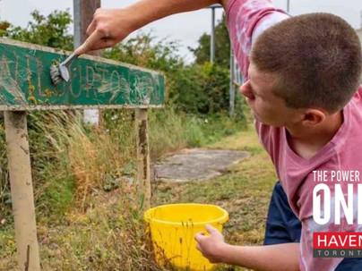 A Teen's Summer Spent Cleaning the Neighbourhood