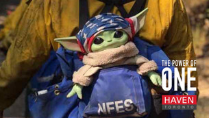 Baby Yoda Inspires Firefighters Battling Wildfires