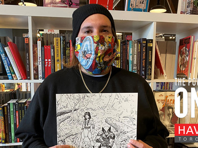Formerly Homeless Edmonton Artist Signs Deal With Marvel Comics