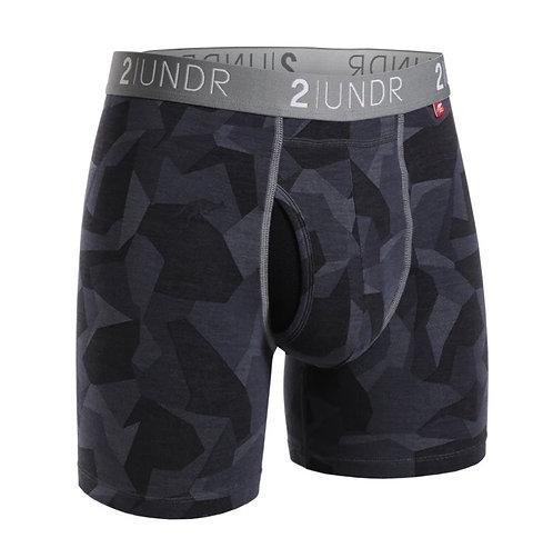 "Boxer - 2UNDR 6"" - Black Camo"