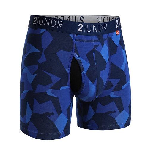 "Boxer - 2UNDR 6"" - Blue Camo"