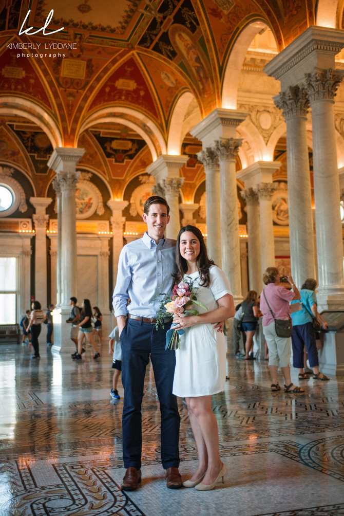 Rachel + Aaron Library of Congress