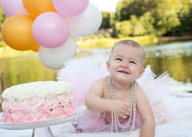 Hartley's First Birthday  I  Kimberly Lyddane Photography