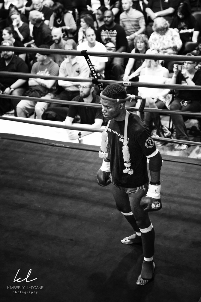 Ron Muay Thai Fight  I  Kimberly Lyddane Photography