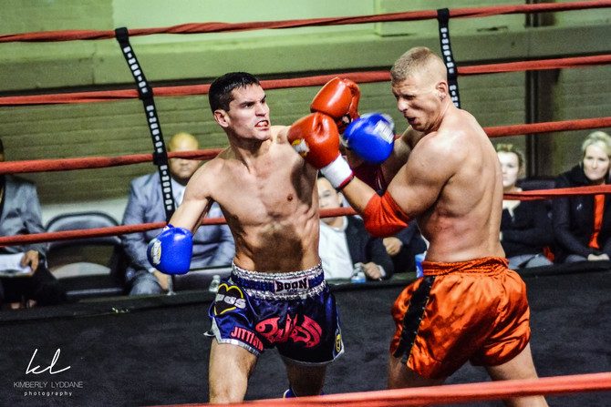 Muay Thai Fight in DC  I  Kimberly Lyddane Photography