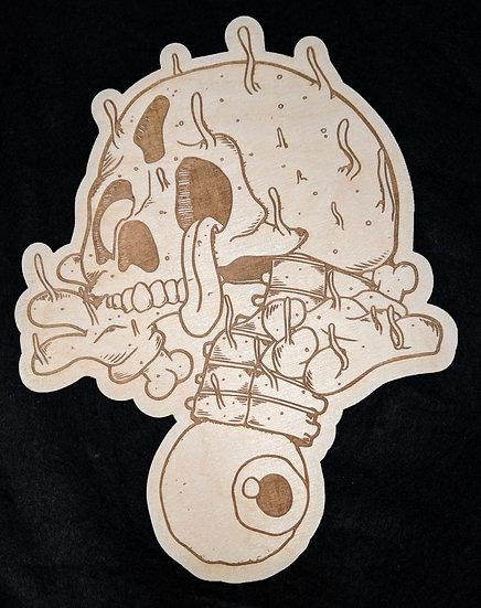 Tippin Wood Print