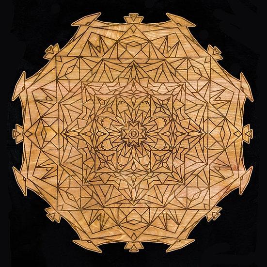 Geometric Mandala Wall Art