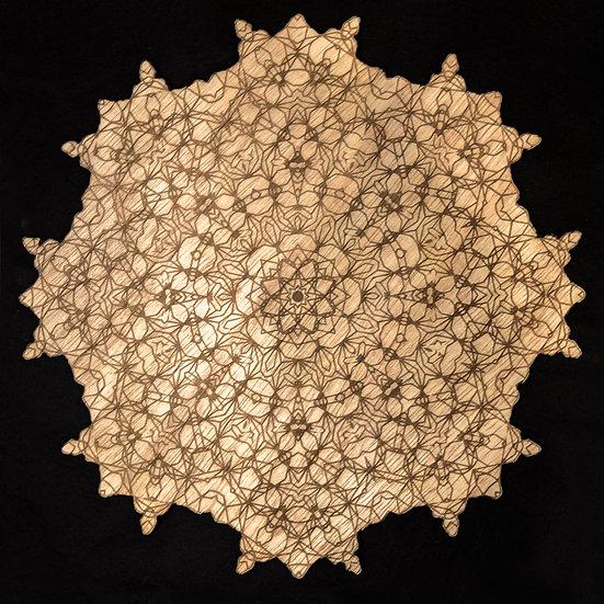 Intricate Mandala Wall Art
