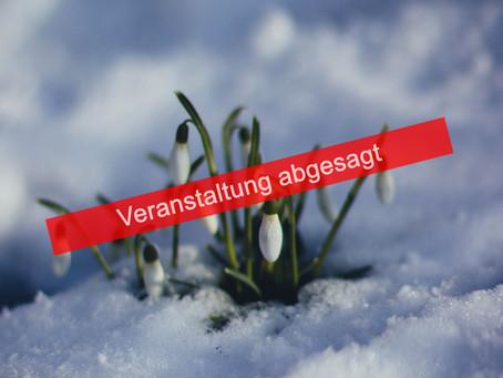 Winter-adé abgesagt
