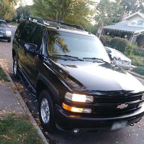 Exterior Wash/Wax (LRG SUV)
