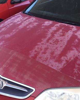 Oxidation Removal on EXTERIOR