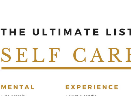 The Ultimate List of 100 Self-Care Ideas (Free Download)
