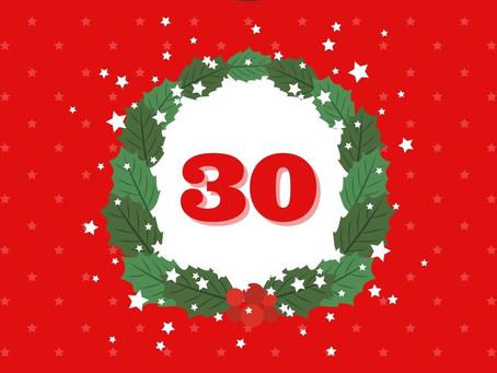 Day 30 - Holiday Calendar
