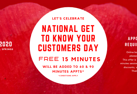 National Get To Know Your Customers Day - January 17, 2020