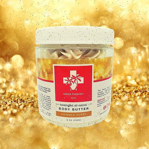 Body Butter - Shimmer Honey