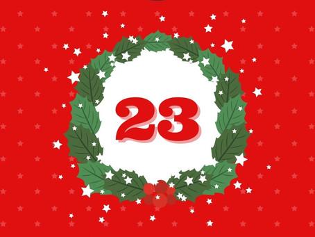 Day 23 - Holiday Calendar
