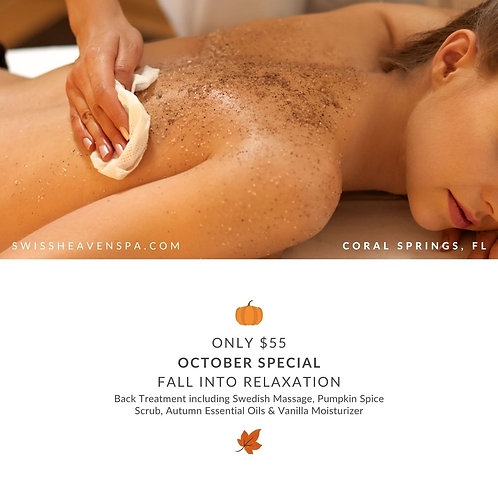 Fall Into Relaxation - (Prepay & Redeem Later)