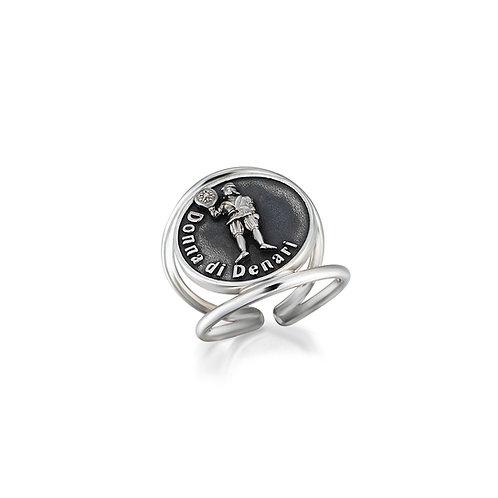 Donna di Denari Coin Ring