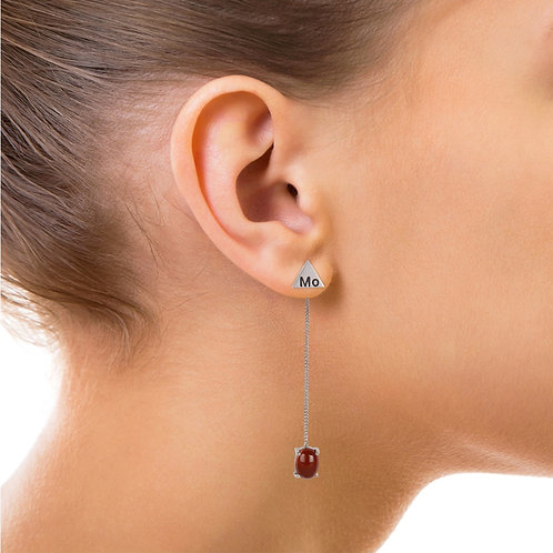 Classy Cancer Earing