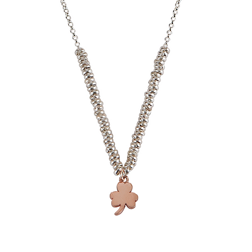 Glossy Clover Necklace