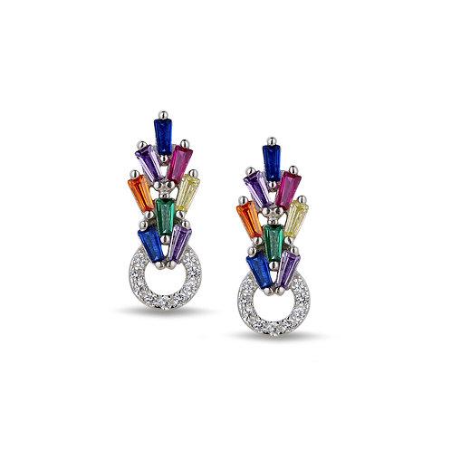 Rainbow Earring Küpe
