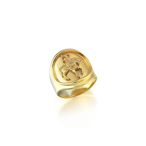 Cavaliere di Coppe College Ring / Unisex