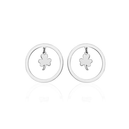 Cerchio Clover Earring