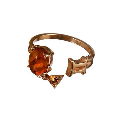 Classy Gemini Ring