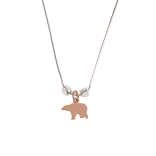 Shiny Bear Necklace