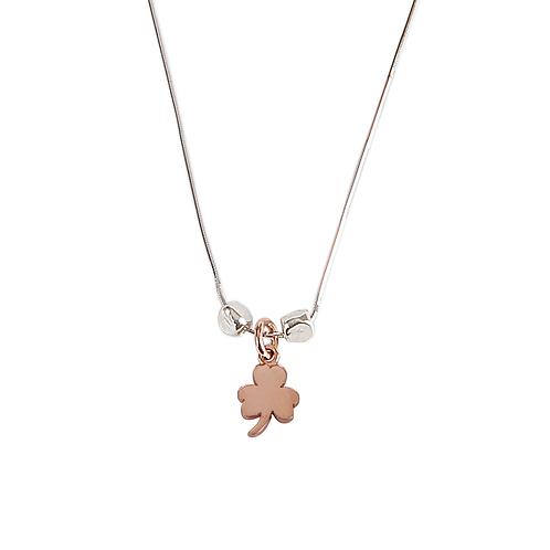 Shiny Clover Necklace