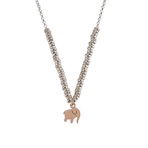 Glossy Elephan Kolye
