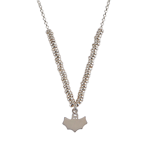 Glossy Bat Necklace