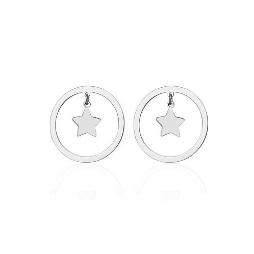 Cerchio Star Earring