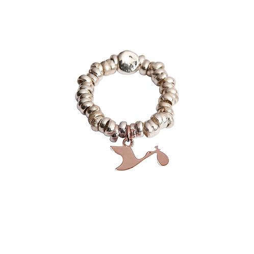 Glossy Stork Ring