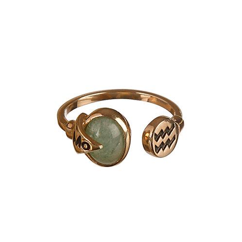 Fancy Aquarius Ring