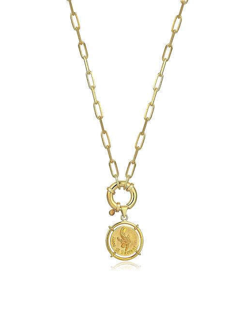 Medallion  Asso di Bastoni