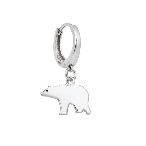 Gancio Bear Earring